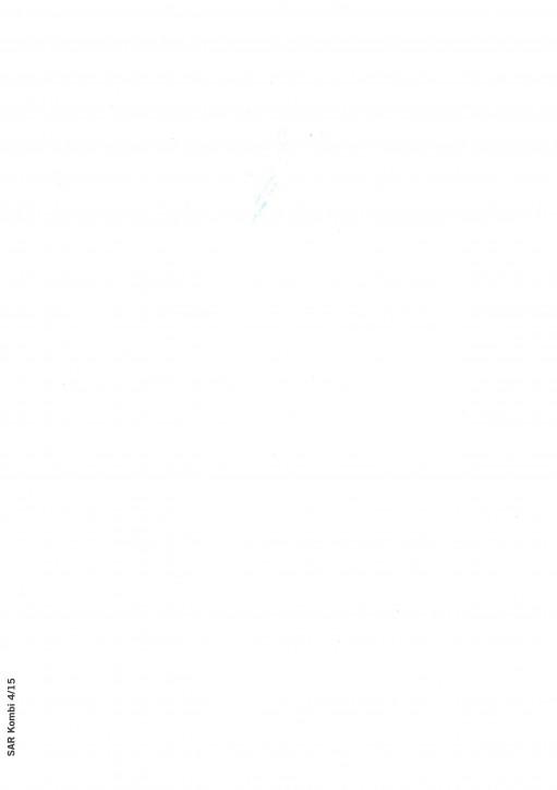 Vollstreckungsprotokoll (Kombi), Saarland, SAR Kombi 8/18, VPE 100 ST