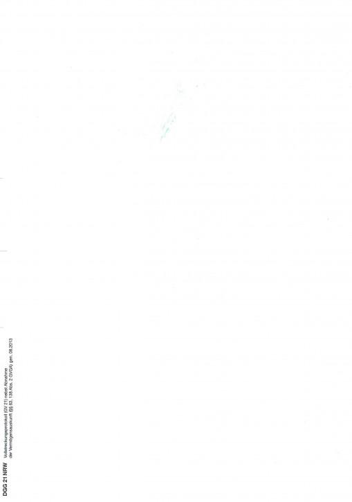 Vollstreckungsprotokoll (GV 21), Nordrhein-Westfalen, 21NRW, VPE 100 ST