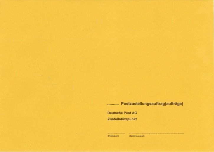 Zustellungshülle B5 (176/250 mm), nassklebend, 444, VPE 100 Stück