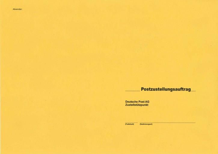 Zustellungshülle B4 (250/353 mm), nassklebend, 439/6, VPE 50 Stück