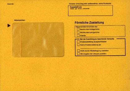 Zustellungshülle (innere) C5 162/229 mm, Fe 60/90 mm, NK, OHNE Kreuz Inl., rückstg. Einstecks., 105KAB4, VE 100 ST