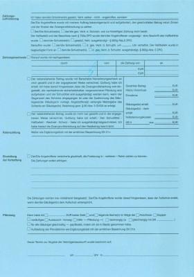 Verhaftungsprotokoll (GV 22), Nordrhein-Westfalen, 22F, VPE 100 ST