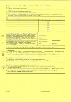 Protokoll über d. Verfahren auf Abnahme d. VAK/eV (GV 24), Hessen, 21HN/11, VPE 100 ST